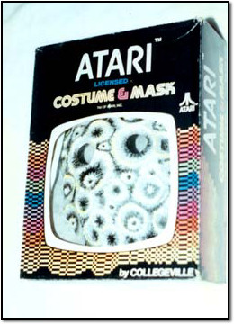 The Disturbing Atari Asteroids Costume Box