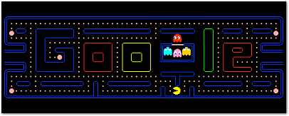 Pac-Man 30th Anniversary Google Doodle