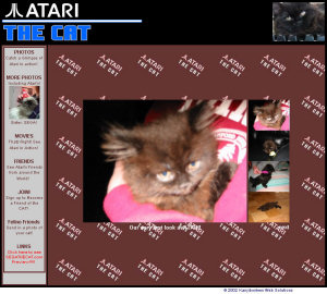 Atari the Cat Site