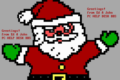 Vintage Computing and Gaming Christmas Xmas Megapost