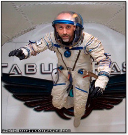 Richard Garriott in Space Costume