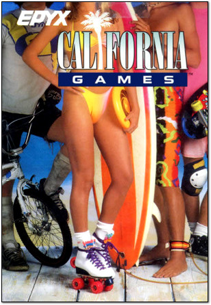 California Games Bikini Girl Costume