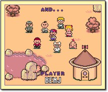 Benj Finishes Earthbound