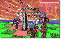 Archipelagos Title Screen