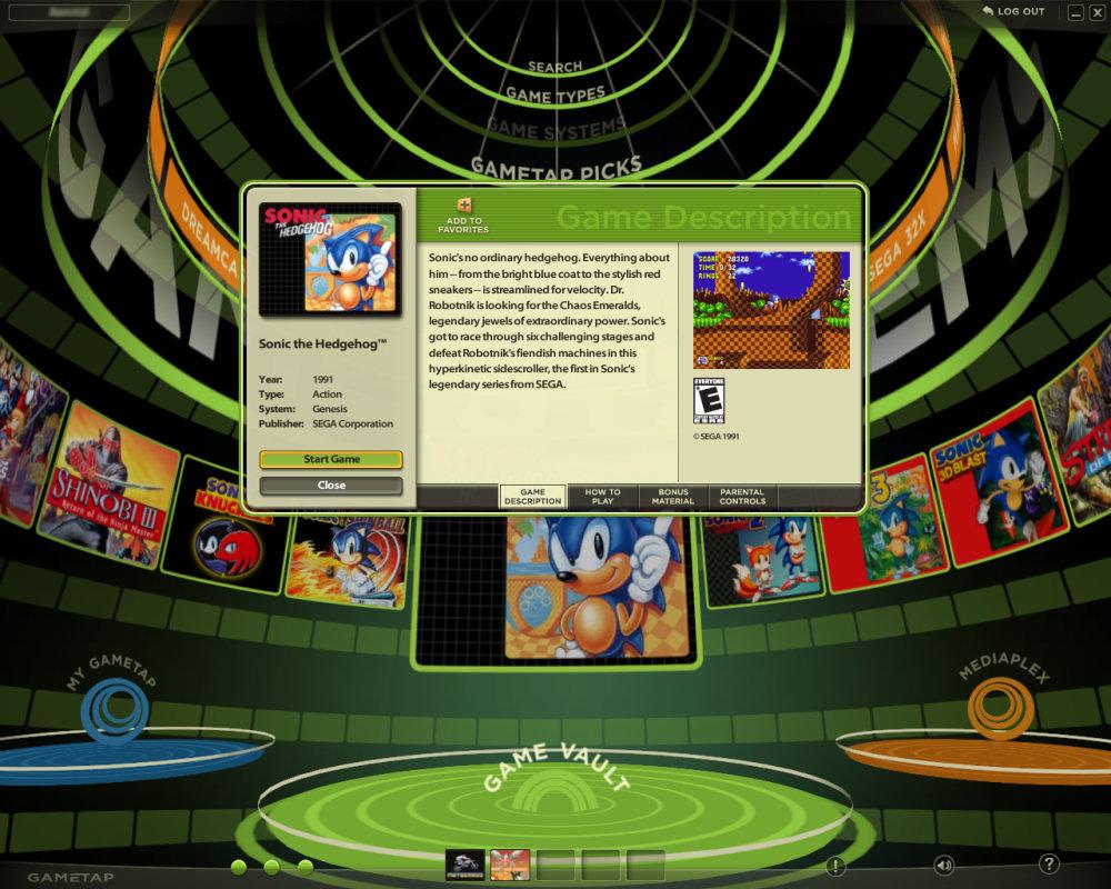 Gametap no longer updating