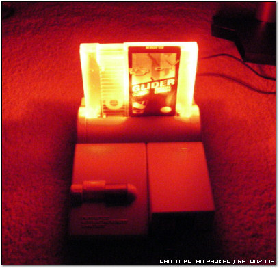 RetroZone Glider NES Special Edition Glowing
