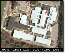Location of RedWolf's First Lisa Sighting