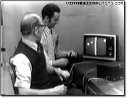 Ralph Baer and Bill Harrison in 1969