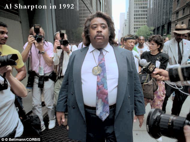 Photo of Al Sharpton in 1992