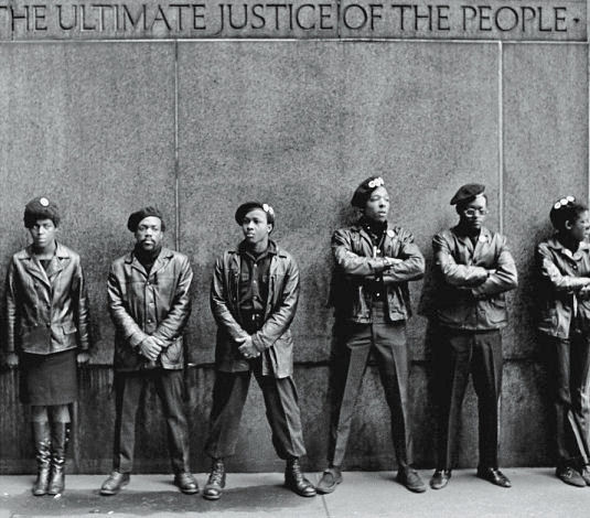 Photo of Black Panther Party Members