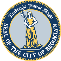 Vintage Seal of Brooklyn New York