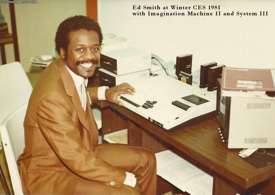 Ed Smith and Imagination Machine at Winter CES 1981
