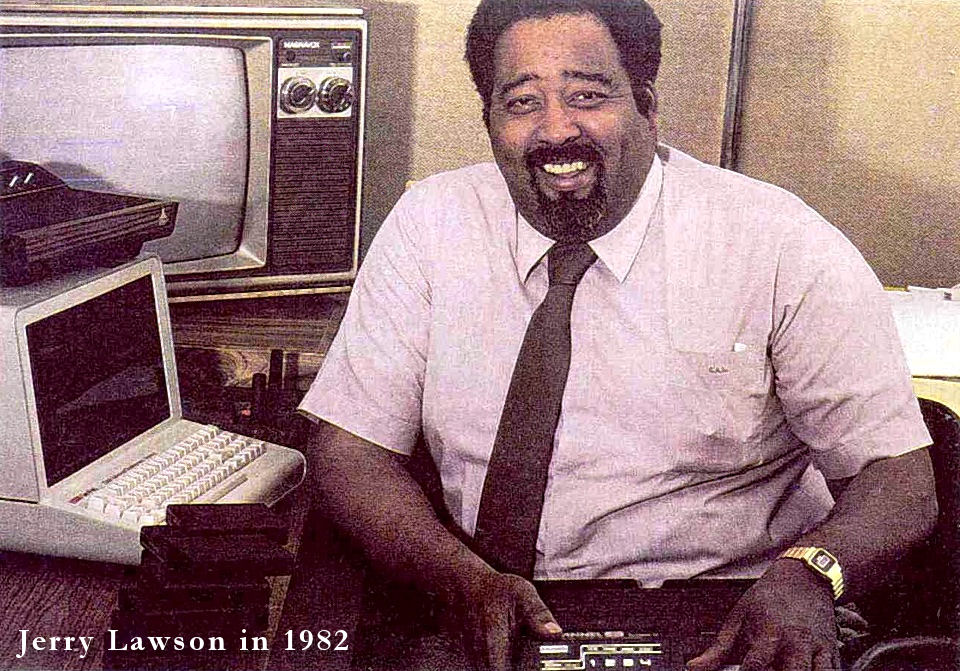 Jerry Lawson in 1982