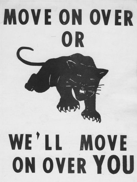 Photo of Black Panther Party Pamphlet Cover