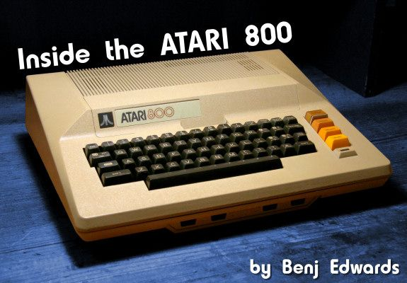 Inside The Atari 800 Intro Slide
