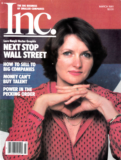 Lore Harp McGovern on Inc Cover