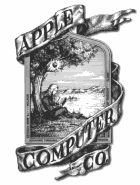 First Apple Computer Logo
