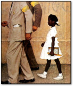 The Problem We All Live With - Norman Rockwell 1964