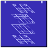 Atari 3D Tic-Tac-Toe Atari 2600 Screenshot