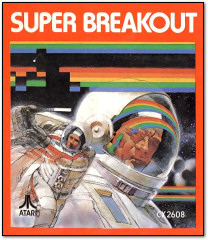 Super Breakout Atari 2600 Box Art