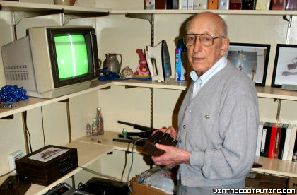 Ralph Baer, inventor of TV video games
