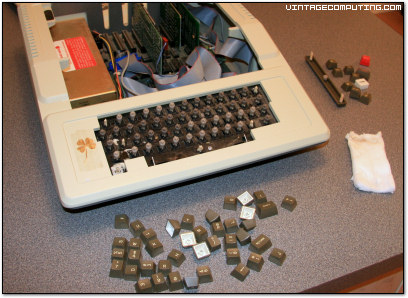 Nasty Apple II Plus Keyboard