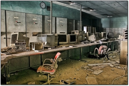 The Eerie World of Abandoned Computers Slideshow on PCMag.com