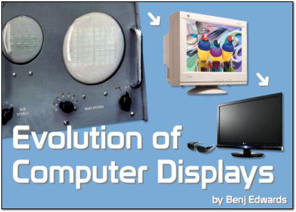 Evolution of Computer Displays - A Brief History of Computer Displays on PC World.com