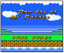 One Day of Mr. Potato Title Screen