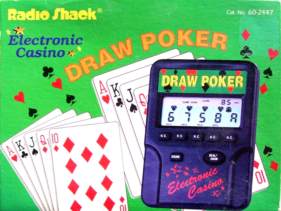 Radio Shack Electronic Casino Draw Poker