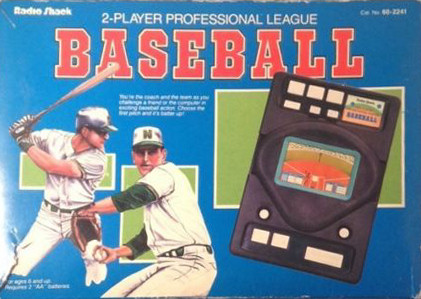 Radio Shack 2-Player Professional League Baseball
