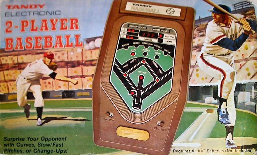 Tandy Electronic 2-Player Baseball