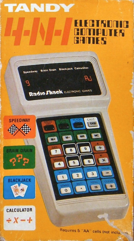Tandy 4-N-1 Electronic Computer Games