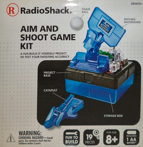 Radio Shack Aim and Shoot Game Kit