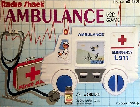 Radio Shack Ambulance LCD Game