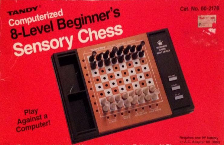 Tandy Computerized 8-Level Beginner's Sensory Chess