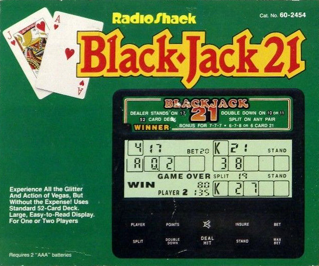 Radio Shack Black Jack 21
