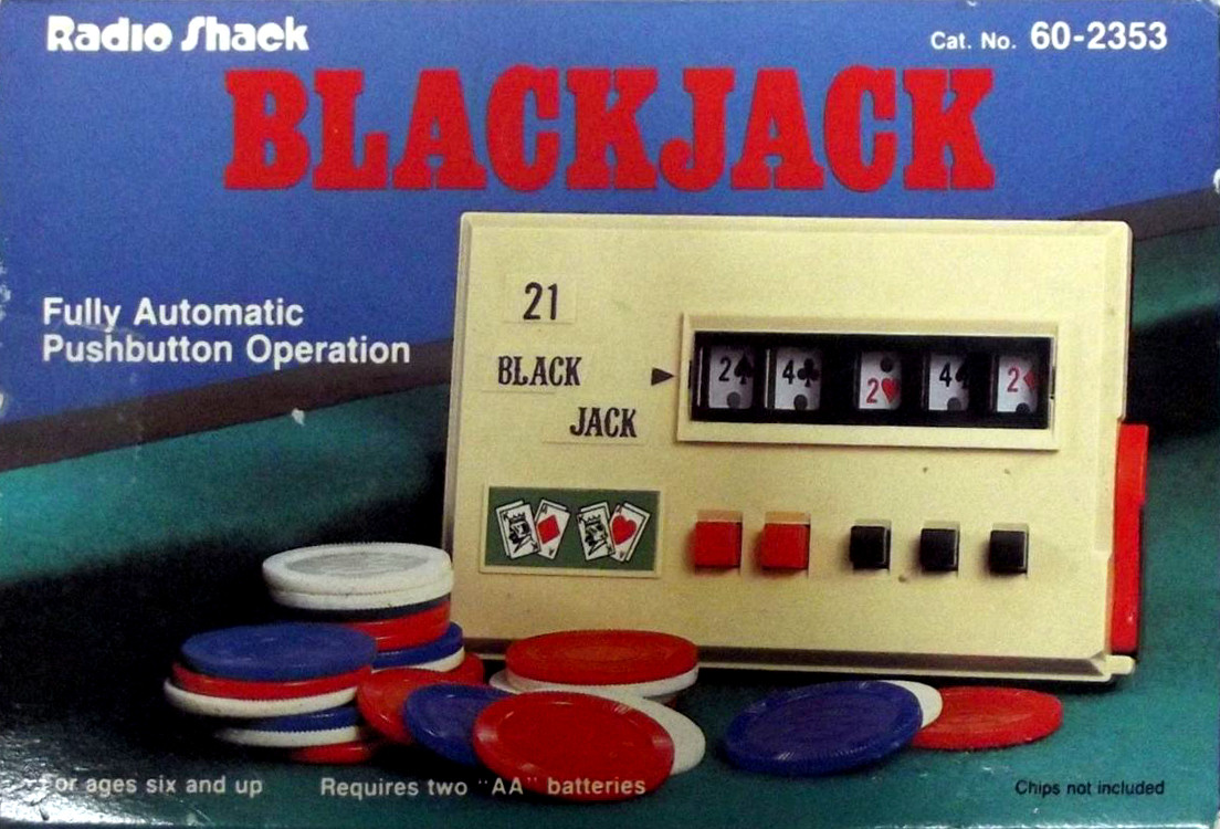 Radio Shack Blackjack Fully Automatic with Pushbutton Operation