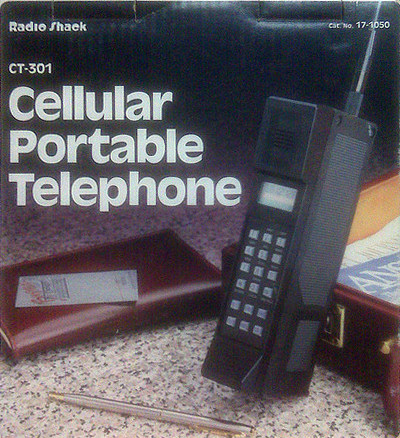 Cellular Portable Telephone CT-301