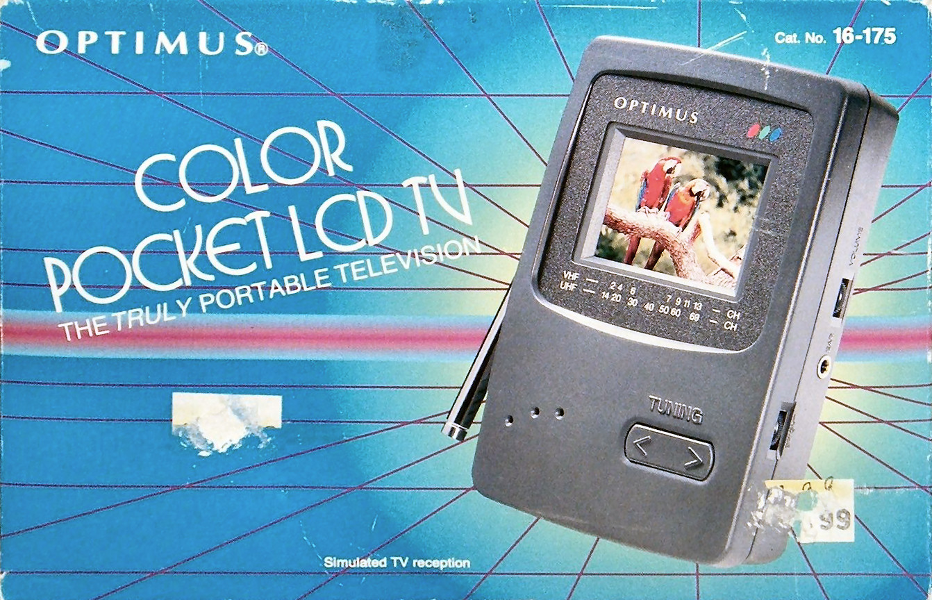 Optimus Color Pocket LCD TV