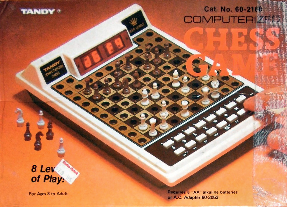 Tandy Computerized Chess Game