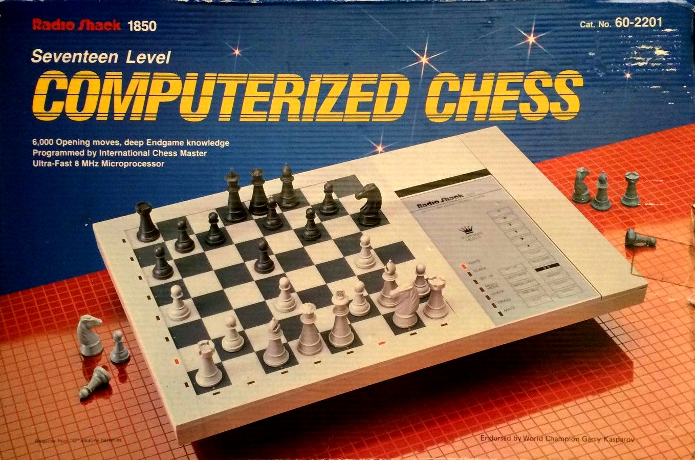 Radio Shack Seventeen Level Computerized Chess