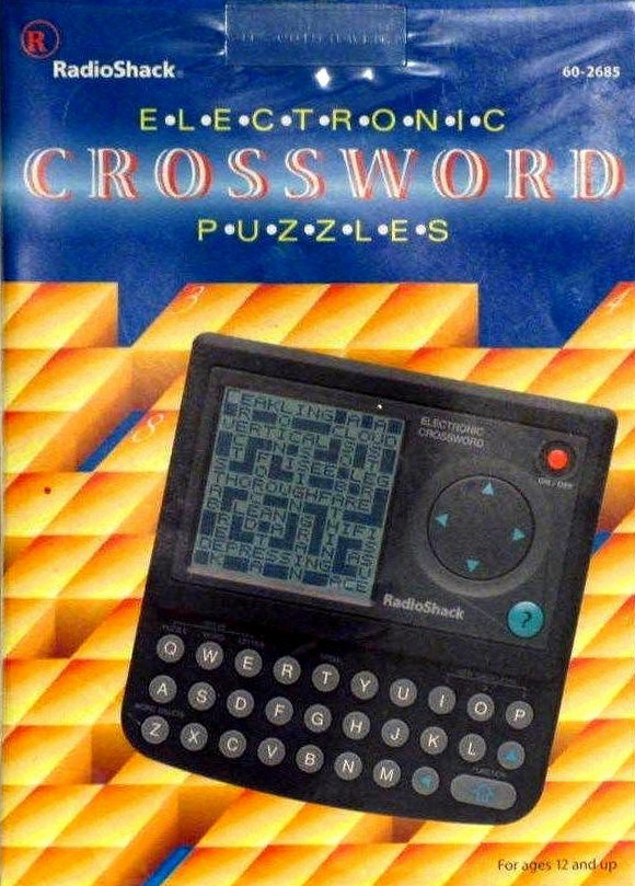 Radio Shack Electronic Crossword Puzzles