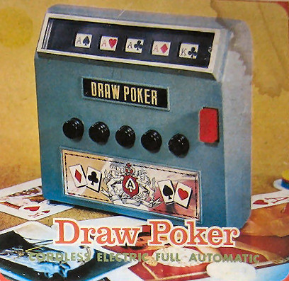 Radio Shack Draw Poker Cordless Electric Full Automatic