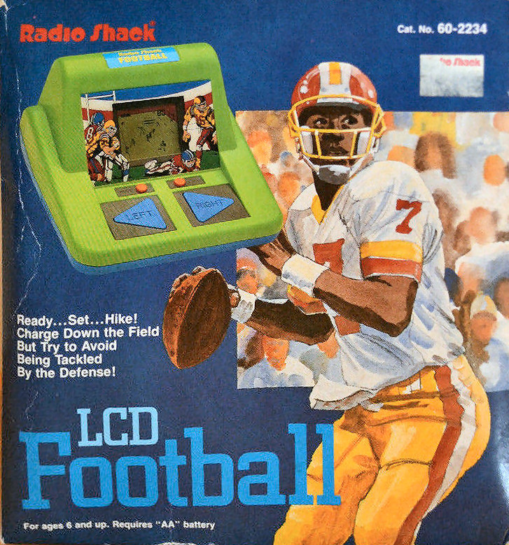 Radio Shack LCD Football Game