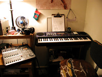 Benj Edwards Recording Studio in Late 2002