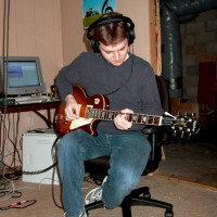 Jeremy Edwards Recording Music in 2004