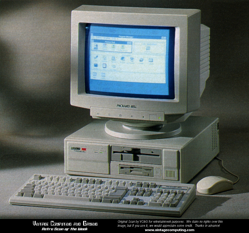 Vc Amp G 187 Retro Scan Of The Week A Packard Bell