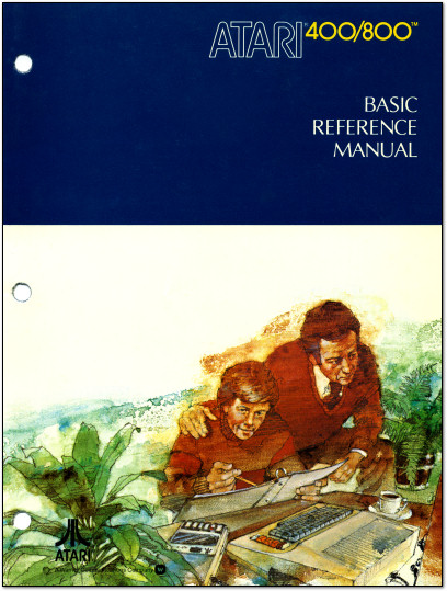 Atari 400/800 BASIC Reference Manual Cover - 1979