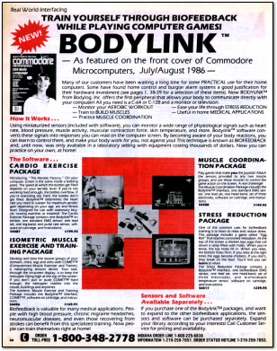 Bodylink Game Interface